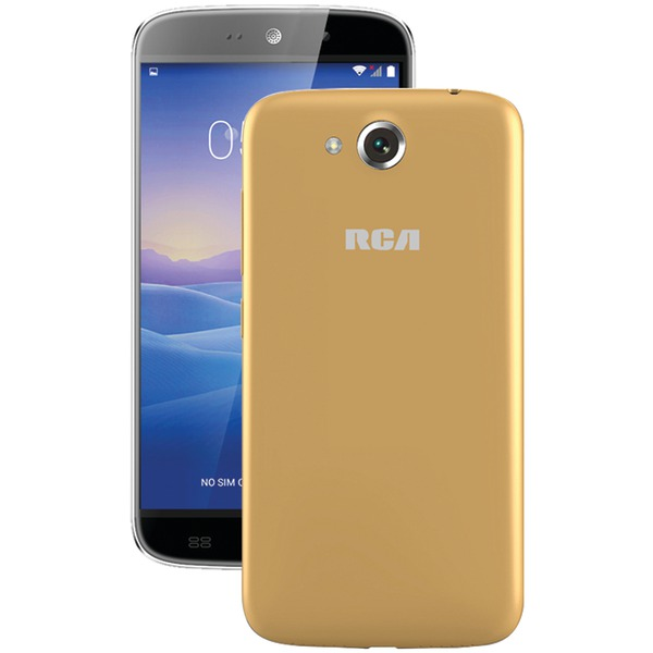 "RCA(R) RLTP5567-CHAMPAGNE 5.5"" Android(TM) Quad-Core Smartphone (Beige/Champagne)"
