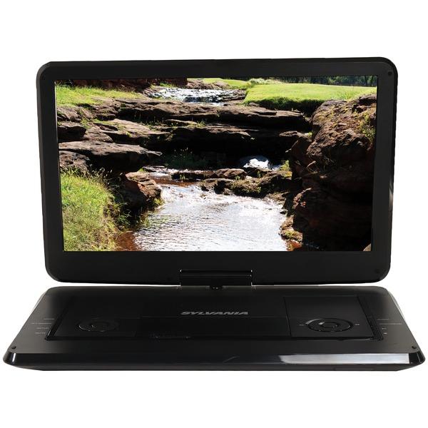 "15.6"" Swivel Screen Portable DVD & Media Player"