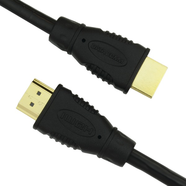 DataComm Electronics 46-1003-BK 10.2Gbps High-Speed HDMI(R) Cable (3ft)