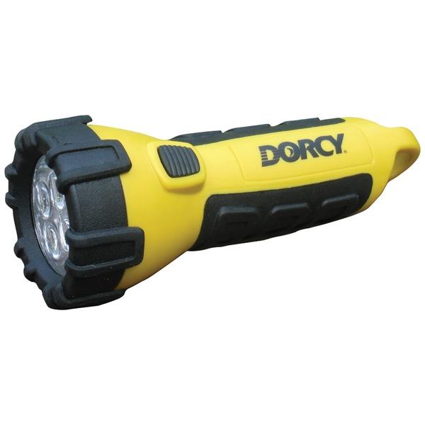 Dorcy(R) 41-2510 55-Lumen 4-LED Carabiner Waterproof Flashlight