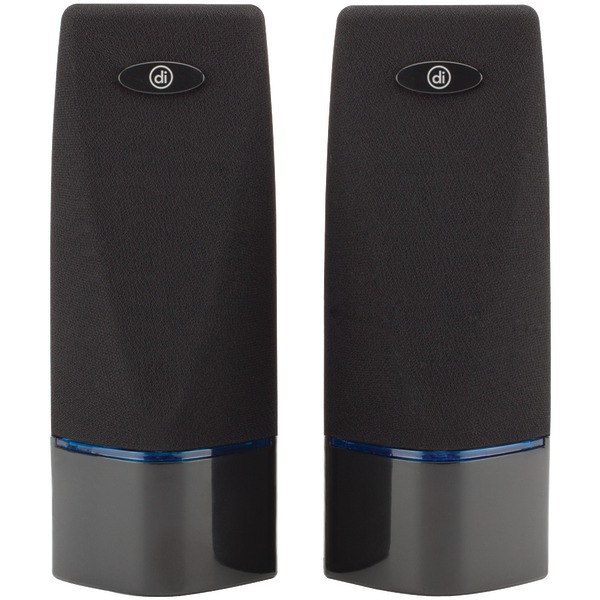 Digital Innovations 4330100 AcoustiX(TM) Multimedia 2.0 Speakers