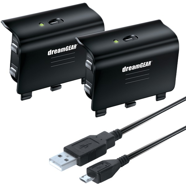 dreamGEAR(R) DGXB1-6608 Charge Kit for Xbox One(R)