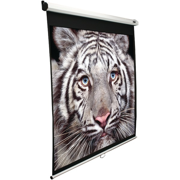"""Elite Screens M100S 100"""" Manual Pull-down B Series Projection Screen (1:1 format; 71"""" x 71"""")"""