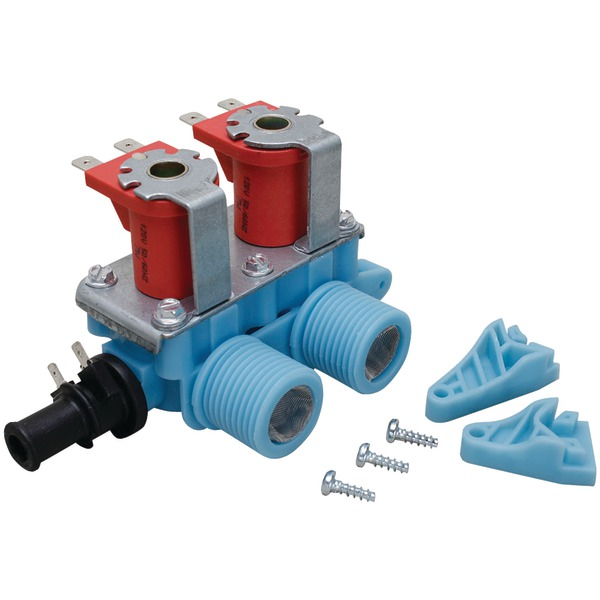 ERP(R) WV-2 Washer Water Valve (Whirlpool(R) 3979346 & 22002708, GE(R) WH13X10006 & Electrolux(R) 134890600)