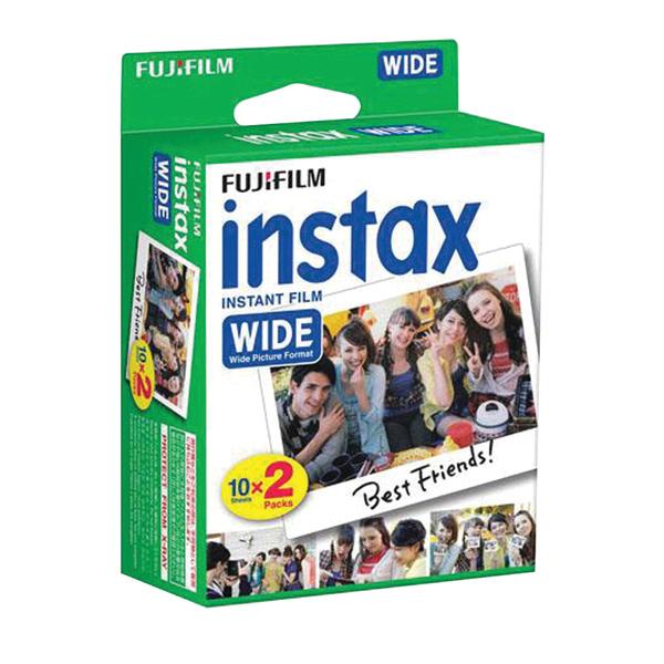 Fujifilm(R) 16468498 instax(R) WIDE Film Twin Pack