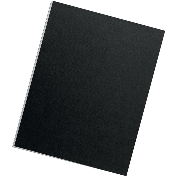 Fellowes(R) 5224901 Futura(TM) Presentation Covers, Letter, 25pk (Black)