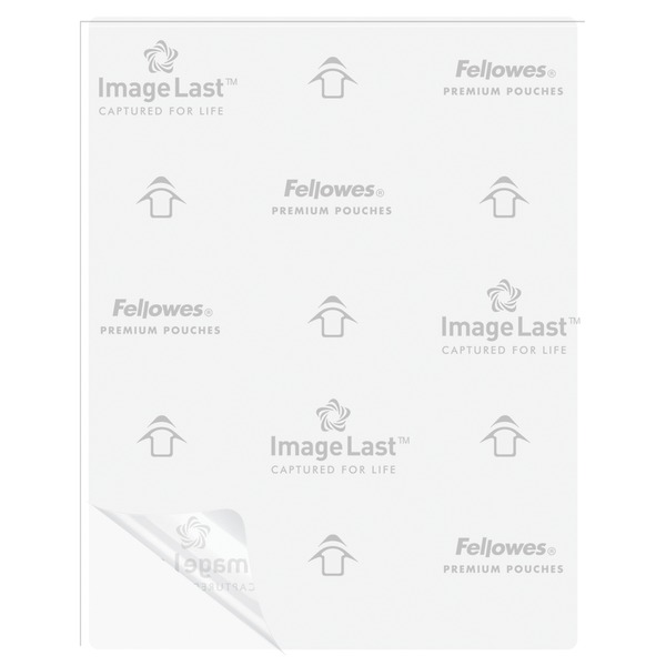 Fellowes(R) 52454 Letter Laminating Pouches, 100 pk (3mil)
