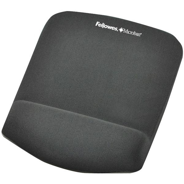 Fellowes(R) 9252201 PlushTouch(TM) Mouse Pad Wrist Rest with FoamFusion(TM)