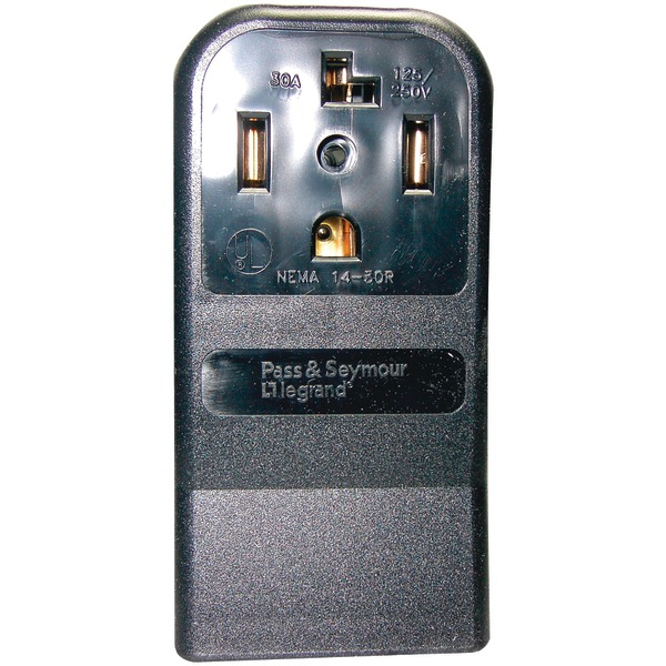 No Logo 55054 Single-Surface Dryer Receptacle (4 wire)