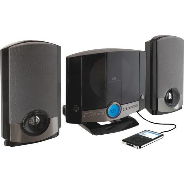GPX(R) HM3817DTBLK CD Home Music System