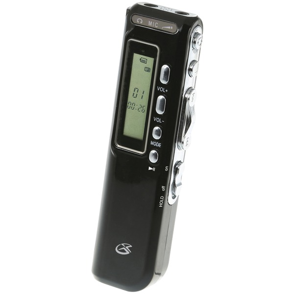 GPX(R) PR047B MP3 Digital Voice Recorder