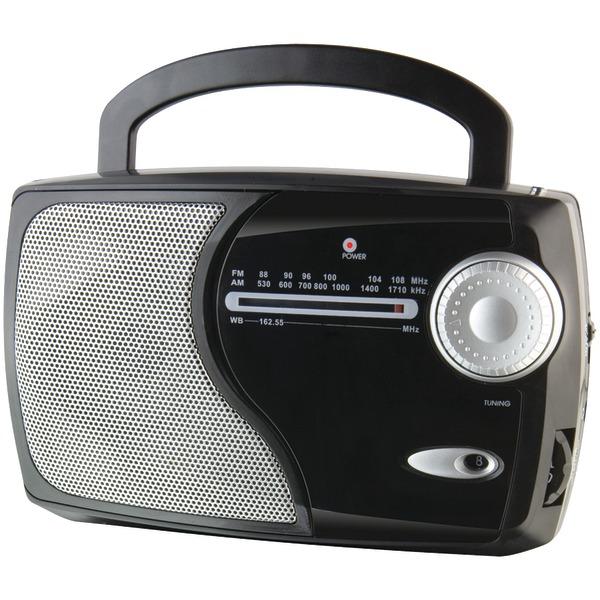 WeatherX(R) WR282B AM/FM Weather Radio