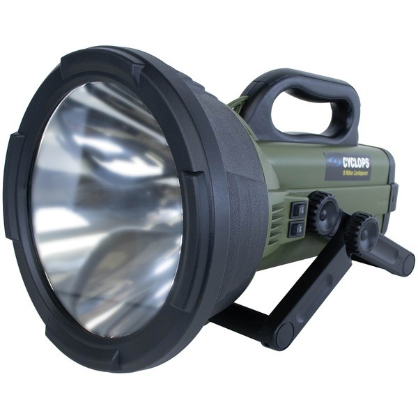 Cyclops(R) C18MIL-FE Colossus 18 Million Candlepower Rechargeable Spotlight