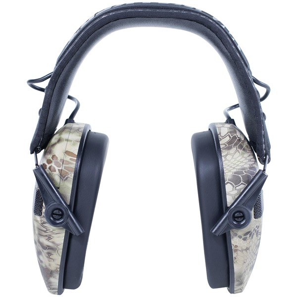 Walker's Game Ear(R) GWP-RSEM-KPT Razor Series(R) Slim Shooter Electronic Folding Muff (Kryptek Camo)