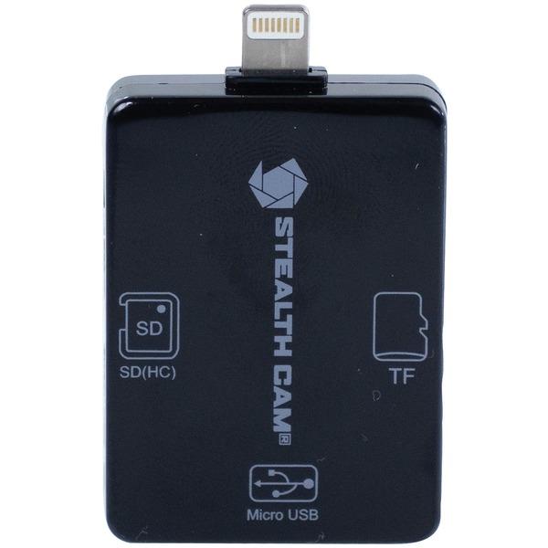 Stealth Cam(R) STC-SDCRIOS iOS(TM) Card Reader