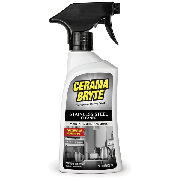 Cerama Bryte(R) 40616 Stainless Steel Appliance Cleaner