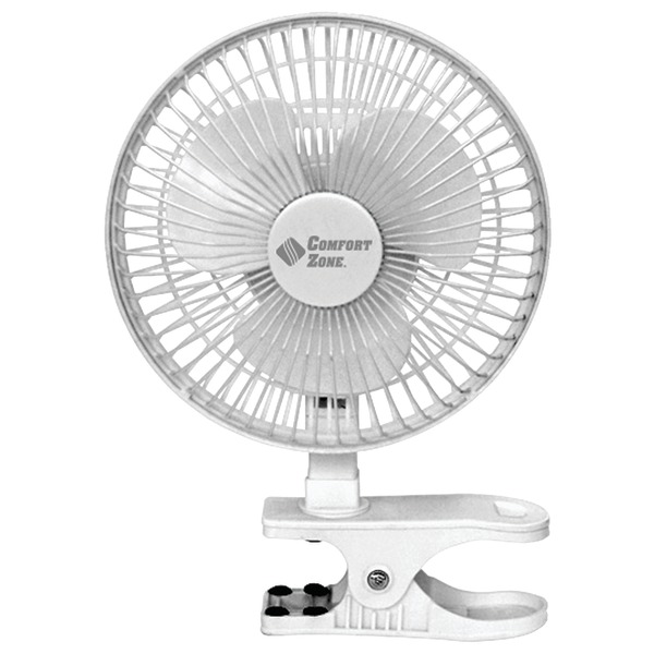 "Comfort Zone(R) CZ6C 6"" Clip-On Fan"