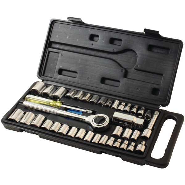 HB Smith(R) 79940 40-Piece Drop-Forged Socket Set