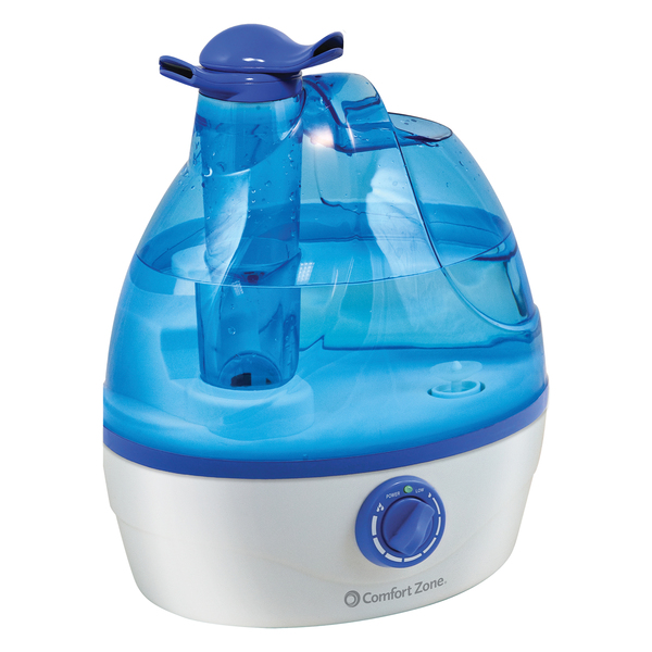 Comfort Zone(R) CZHD24 .6-Gallon Ultrasonic Cool Mist Humidifier