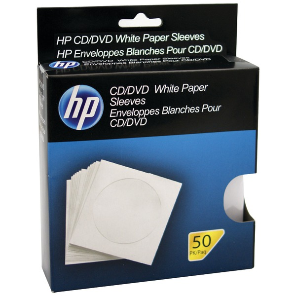 HP(R) HPWS50RB CD/DVD Storage Sleeves (50 pk)
