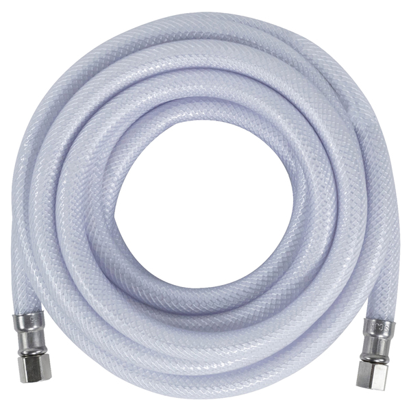 "Certified Appliance Accessories(R) IM180P PVC Ice Maker Connector with 1/4"" Compression, 15ft"