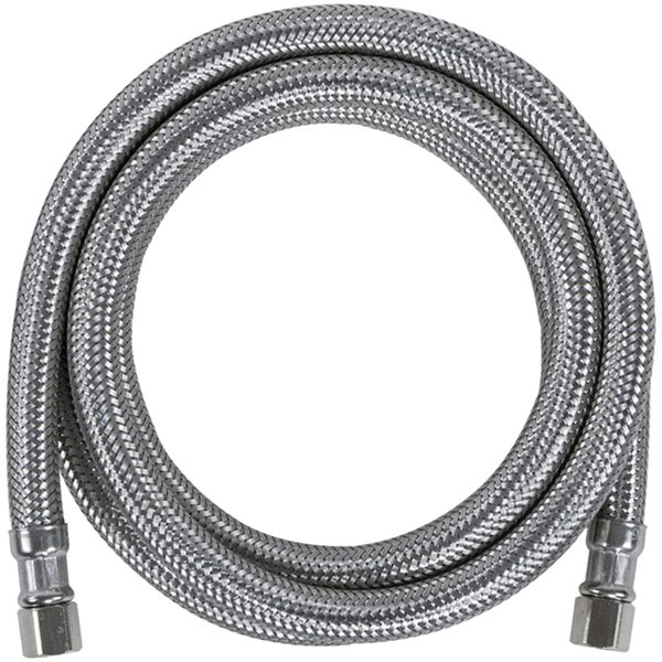 Certified Appliance Accessories(R) IM48SS Braided Stainless Steel Ice Maker Connector, 4ft