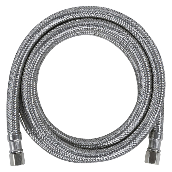 Certified Appliance Accessories(R) IM84SS Braided Stainless Steel Ice Maker Connector, 7ft
