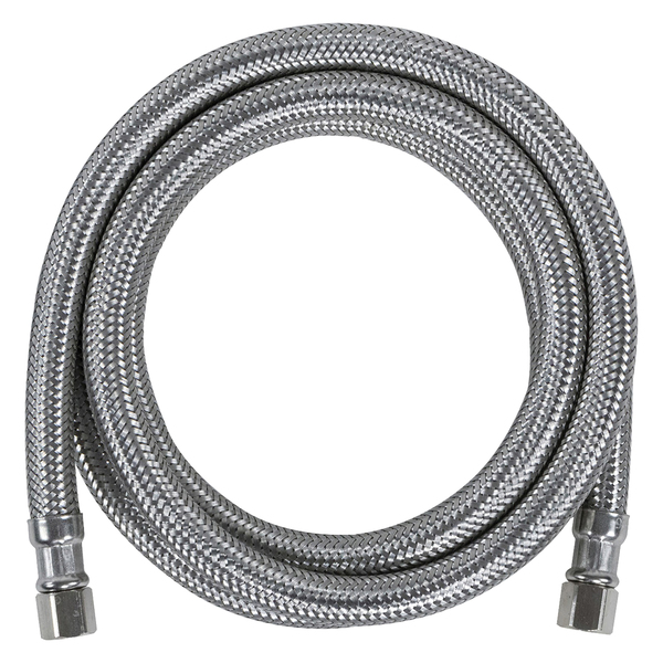Certified Appliance Accessories(R) IM96SS Braided Stainless Steel Ice Maker Connector, 8ft