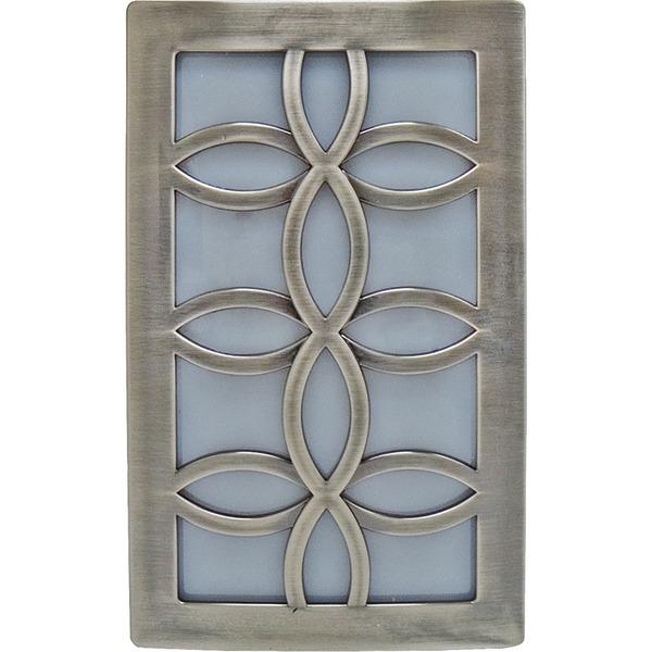 GE(R) 11257 Faux Nickel Leaf Design Night-Light