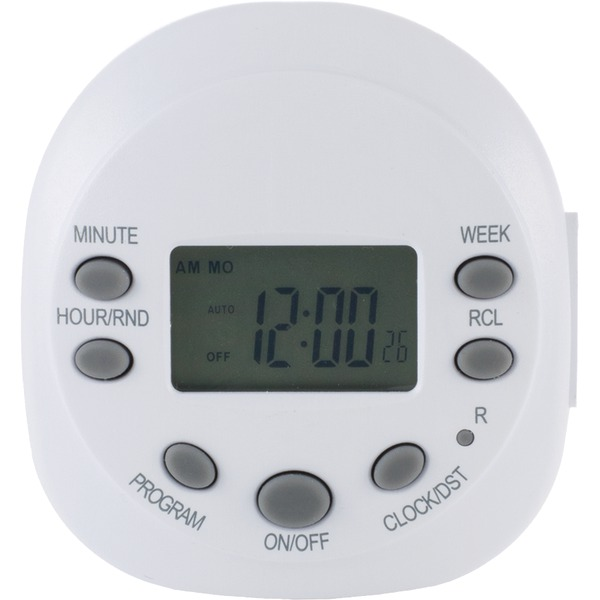 GE(R) 15154 7-Day Random On/off 1-Outlet Plug-in Digital Timer
