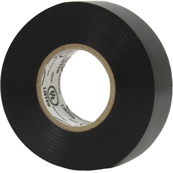 GE(R) 18160 Black PVC Electrical Tape