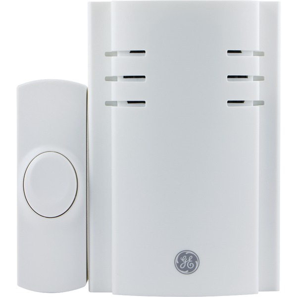 GE(R) 19299 8-Melody Plug-in Door Chime with Push Button