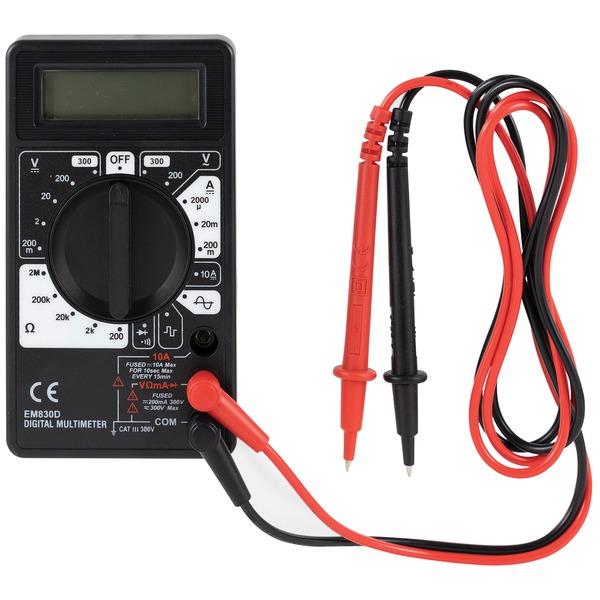 GE(R) 50953 17-Range 6-Function Digital Multimeter