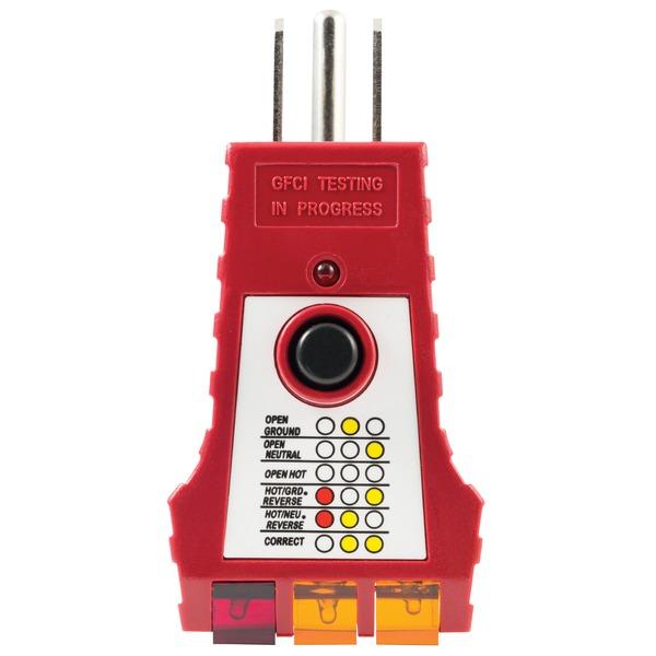 GE(R) 50957 110 Volt-125 Volt GFCI Tester