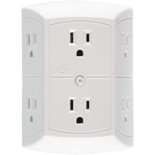 GE(R) JASHEP50759 6-Outlet In-Wall Adapter