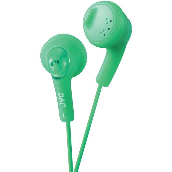 JVC(R) HAF160G Gumy(R) Earbuds (Green)