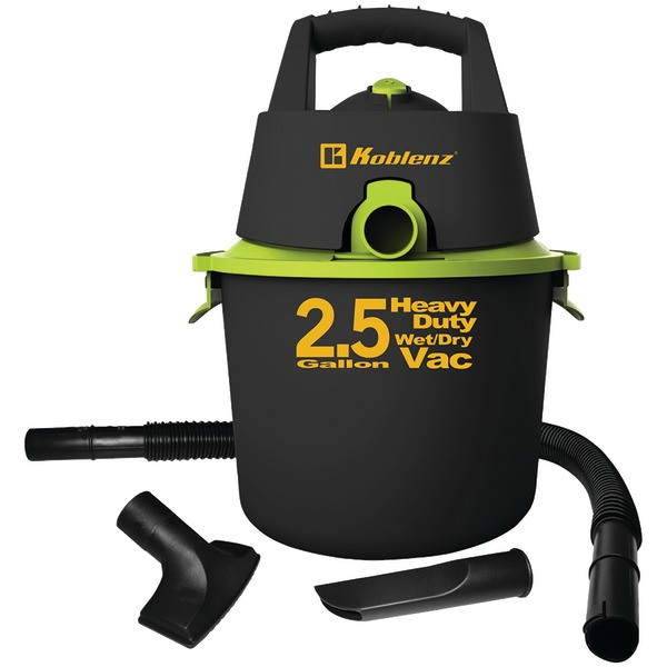 Koblenz(R) WD-2.US 2.5-Gallon Wet/Dry Vacuum