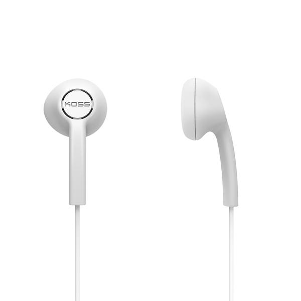 KOSS(R) 191643 KE5 Earbuds (White)