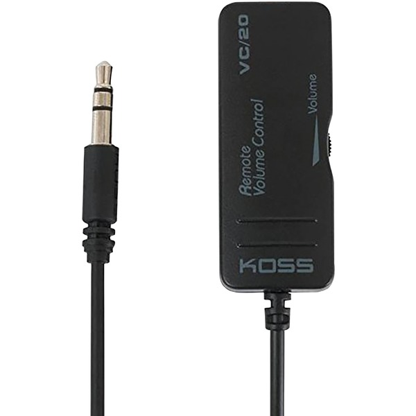 KOSS(R) 192211 VC20 In-Line Headphone Volume Controller