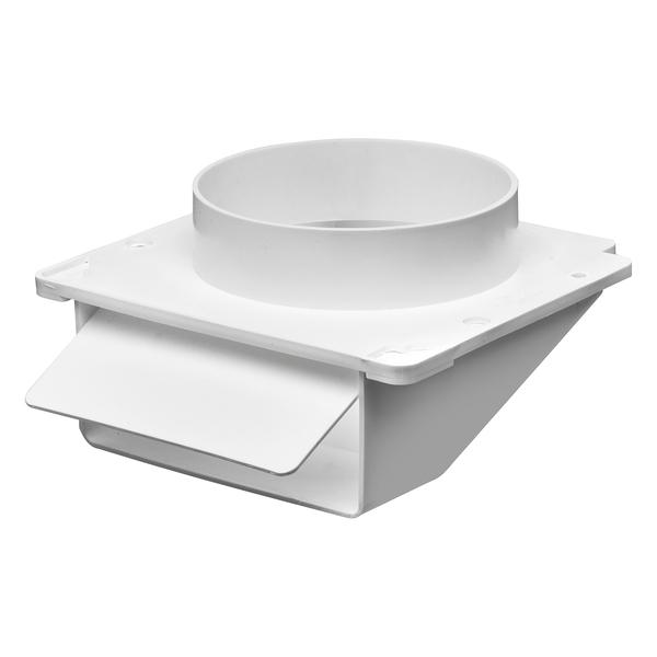 "Lambro(R) 143W 4"" Plastic Under-Eave Vent"