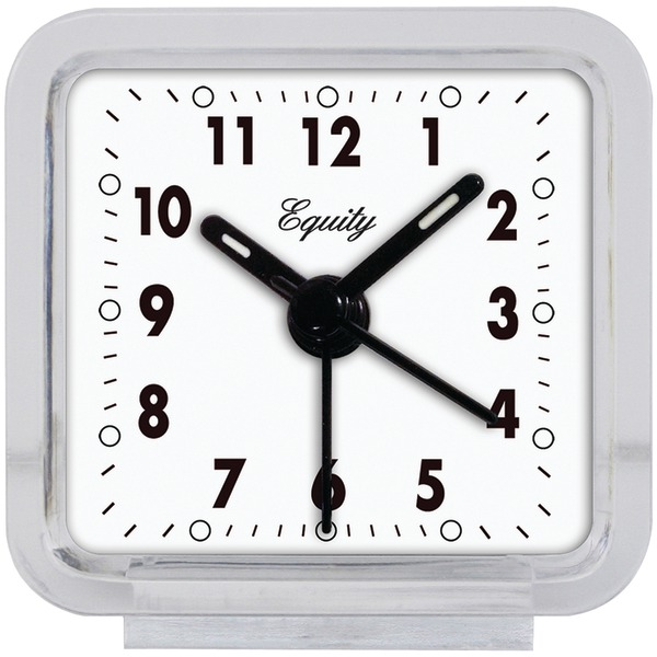 Equity(R) by La Crosse 21038 Clear Quartz Alarm Clock