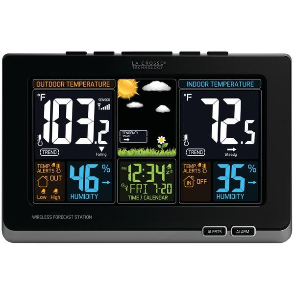 La Crosse Technology(R) 308-1414B Wireless Color Forecast Station