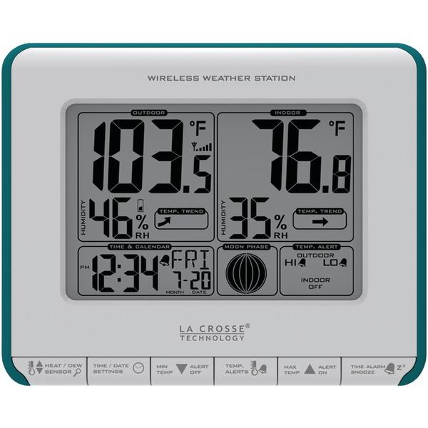La Crosse Technology(R) 308-1711BL Wireless Weather Station