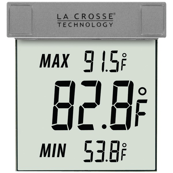La Crosse Technology(R) WS-1025 Outdoor Window Thermometer