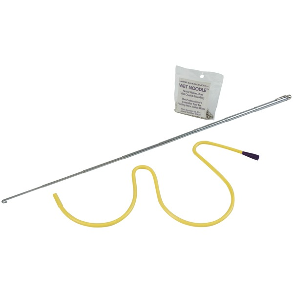 Labor Saving Devices 85-124 Wet Noodle(TM) Magnetic In-Wall Retrieval System