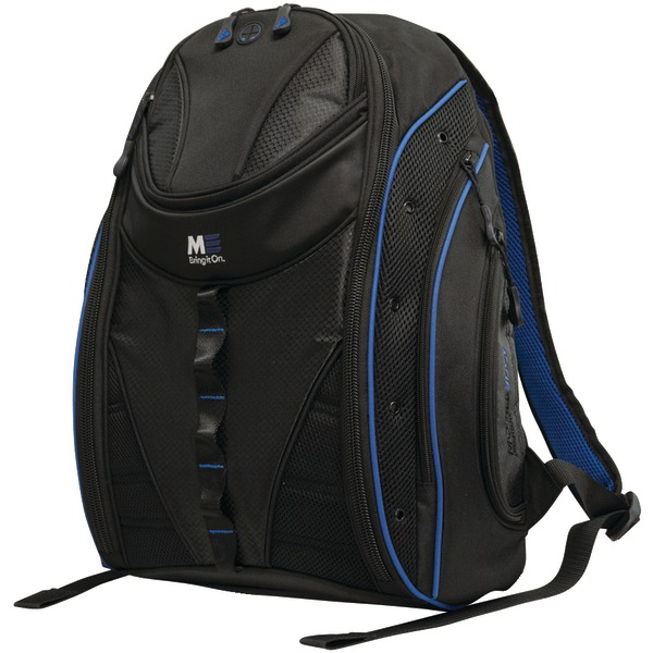 "Mobile Edge(R) MEBPE32 16"" PC/17"" MacBook(R) Express 2.0 Backpack, Royal Blue"