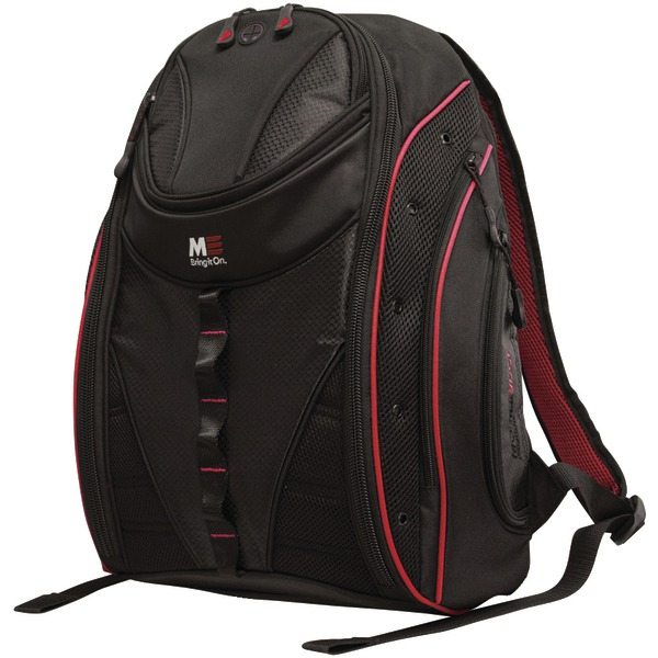 "Mobile Edge(R) MEBPE72 16"" PC/17"" MacBook(R) Express 2.0 Backpack, Red"