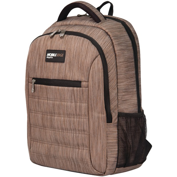 "Mobile Edge(R) MEBPSP8 15.6"" SmartPack Backpack (Wheat)"