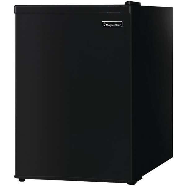 Magic Chef(R) MCBR240B1 2.4 Cubic-ft Refrigerator (Black)