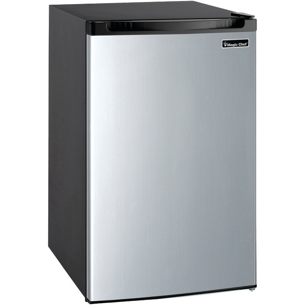 Magic Chef(R) MCBR440S2 4.4 Cubic-ft Refrigerator (Stainless Look)